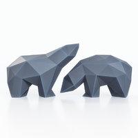 bears figures 3D model