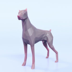 dog pose 3D