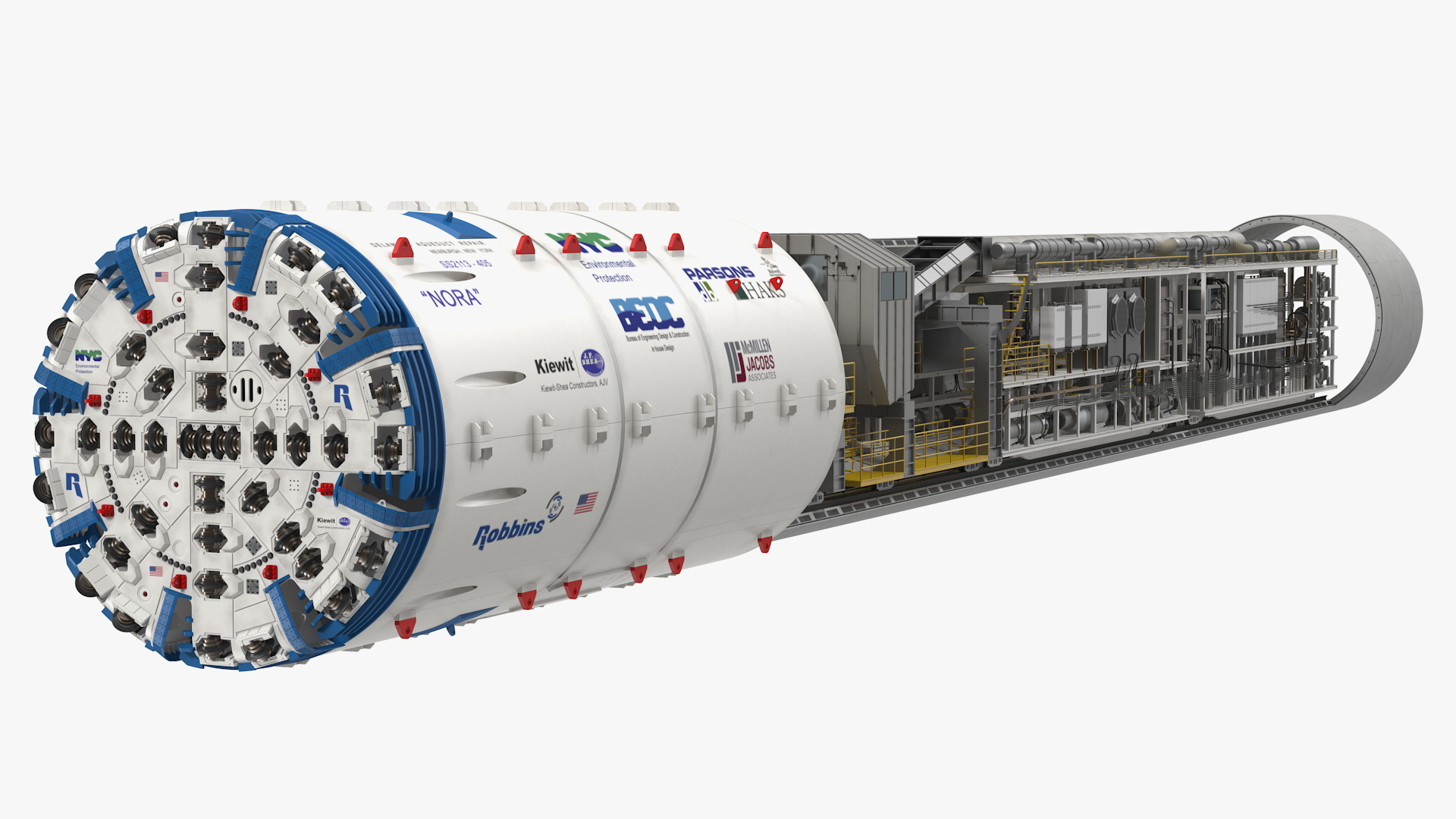 Image result for Tunnel Boring Machine