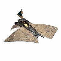 sci fi -spaceship 3D model