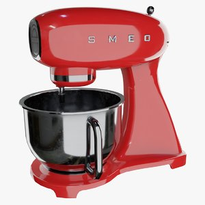 3D mixer appliance model