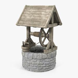 3D stone water model