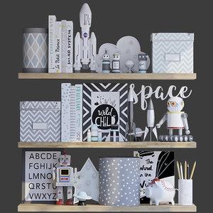 decorative toys accessories model