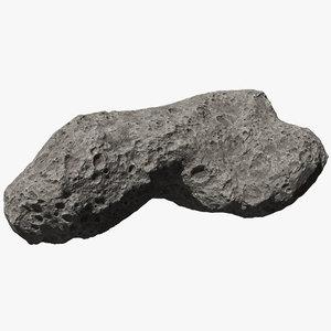 asteroid ida 3D model