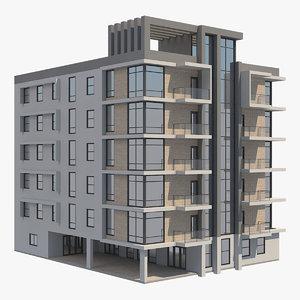 building apartment model