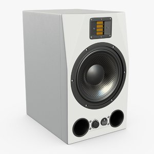 powered monitor 3D model