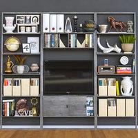 tv cabinet 3D
