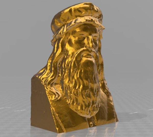 secret da vinci 3D model