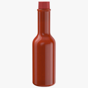 sauce production 3D model