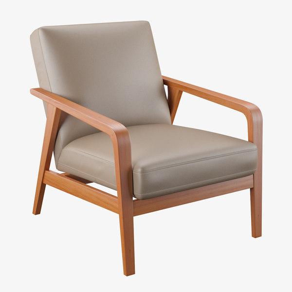 marten armchair 3D model