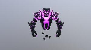 3D model spirit elemental