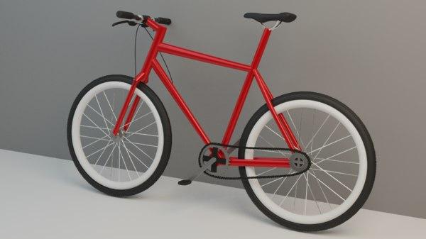 simple bike model