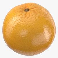 3D model orange 01