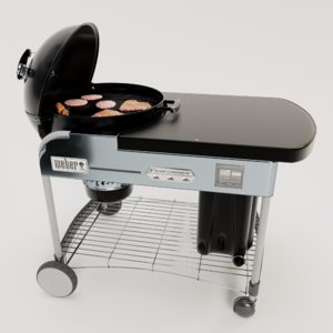 barbeque grill 3D model