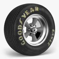 goodyear billboard tire torq 3D model