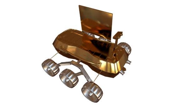 3D model rover