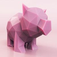 3D pig little
