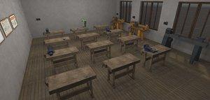 vr labour room - 3D model