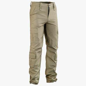 realistic pants desert 2 3D model