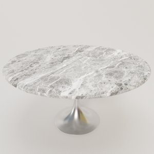 3D model stylish dining table