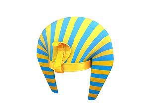 pharaoh hat 3D model