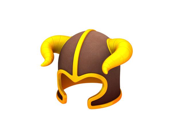 barbarian helmet 3D