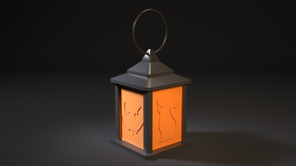 3D lamp halloween