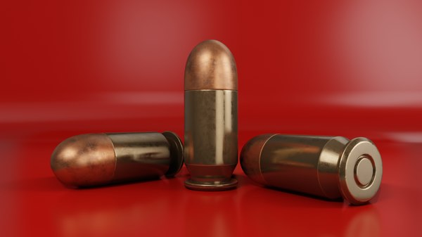 copper 9mm 3D model