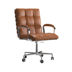 3D rossi desk chair model