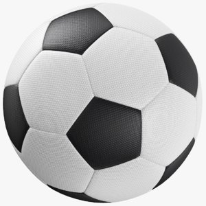 real soccer ball 3D model