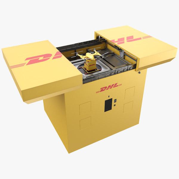 3D pbr drone model