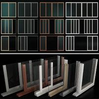 Sliding Stained Glass Aluminum Windows(1)