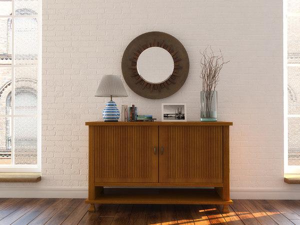 3D decorative set lamp model