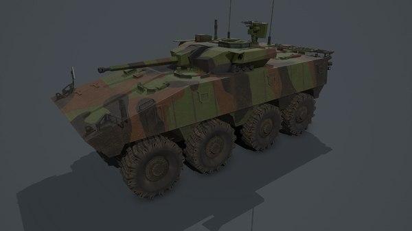 vbci 2 vehicle 3D model