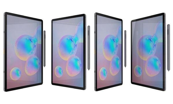 3D samsung galaxy tab s6 model