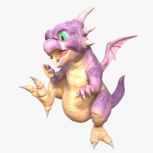 3D dragon icarus