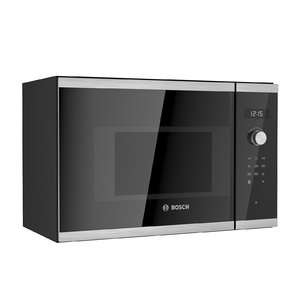 built-in microwave bosch 3D model