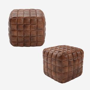 casa padrino genuine leather 3D model