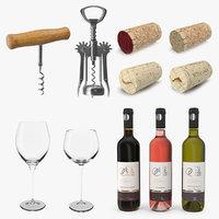 3D wine 3