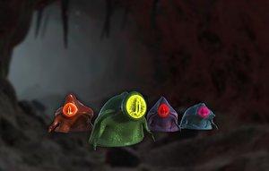pbr slime 3D model
