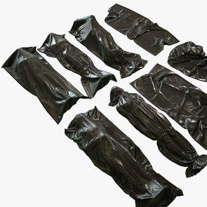 hq bodybags 3D model