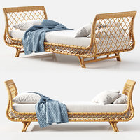 3D model daybed avalon