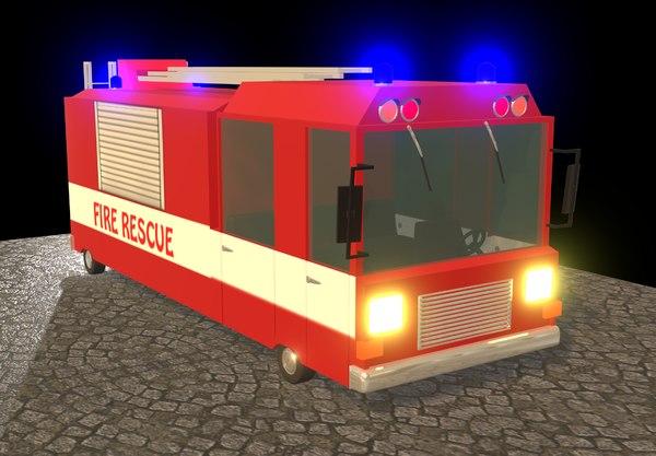 3D car rescue model