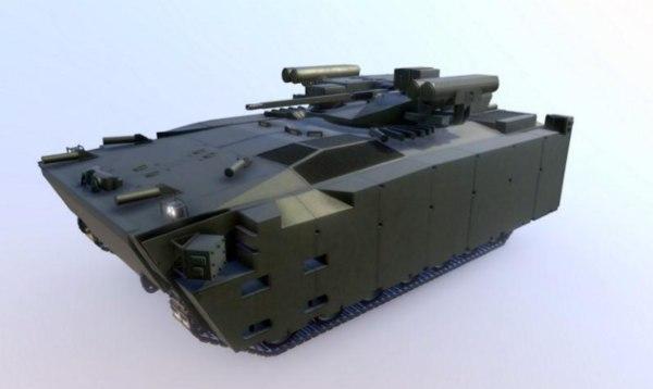 kurganets 25 3D model