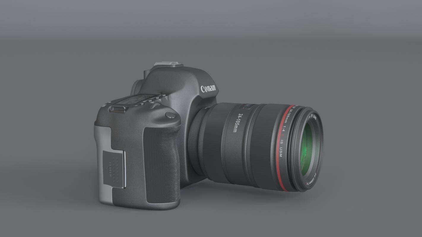 3D conan camera 5d series model