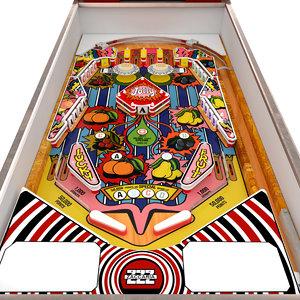 3D pinball machine zaccaria