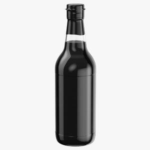 3D soy sauce bottle 01