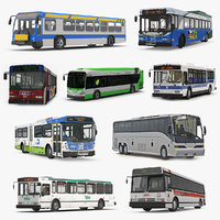 buses 8 bus 3D