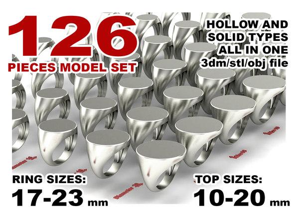 jewelry printing set model
