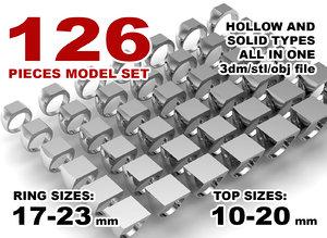 3D jewelry printing set